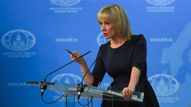 Russian Foreign Ministry spokeswoman Maria Zakharova (AFP file photo)