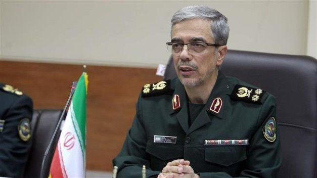 Chairman of the Chiefs of Staff of the Iranian Armed Forces Major General Mohammad Baqeri (file photo)