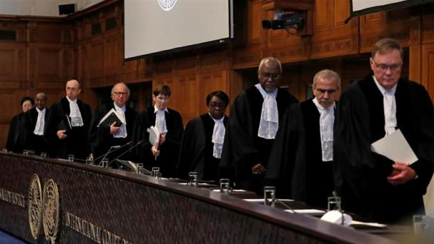 In 2018, the ICJ court ruled the US must lift sanctions on humanitarian goods to Iran [Yves Herman/Reuters]