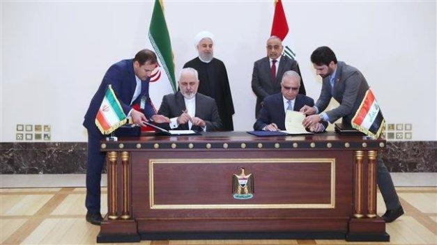 PressTV-Iran, Iraq sign 5 economic, healthcare MoUs