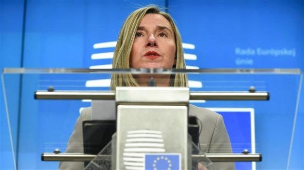 European Union foreign policy chief Federica Mogherini (Photo by AFP)