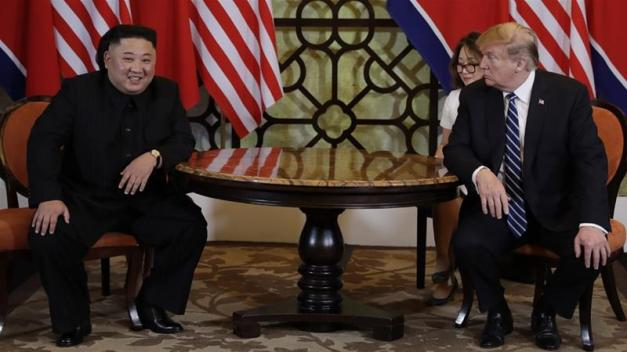 US-North Korean engagement appears to be in limbo since the February 27-28 summit in Hanoi [AP]