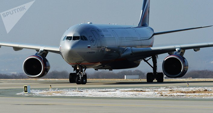 Airbus A330 aircraft of Aeroflot airlines