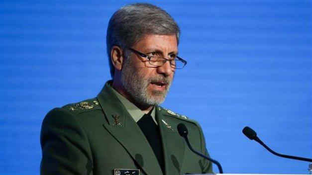 Iran's Defense Minister Brigadier General Amir Hatami