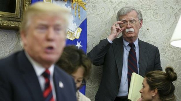 PressTV-Trump considering replacing John Bolton: Report