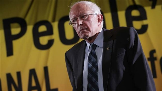 Sen. Bernie Sanders addresses the Moral Action Congress of the Poor People's Campaign June 17, 2019 at Trinity Washington University in Washington, DC. (AFP photo)