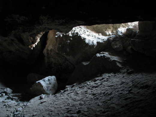 Inside Locklock Cave