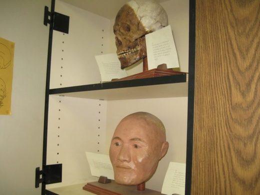Large red skull