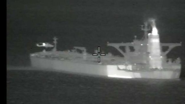 Gibraltar extends detention of Iranian tanker for 14 days