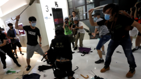 VIDEO emerges showing Hong Kong protesters brutally beating police officer