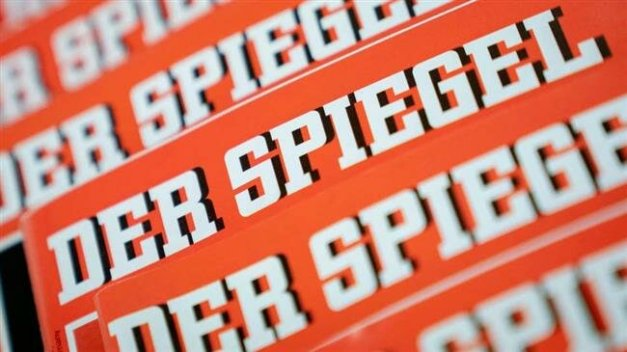 A photo by AP shows Germany's leading news weekly Der Spiegel.