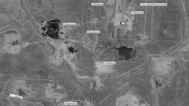 PressTV-Satellite images prove US smuggling Syrian oil: Russia