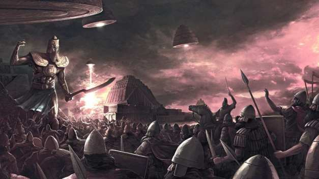 Anunnaki Giant God War